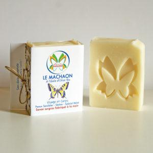 Savon extra-doux à l'huile d'olive bio – Le Machaon