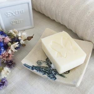 Porte-savon en céramique